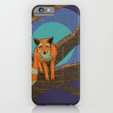 Fox at night iPhone 6s Slim Case