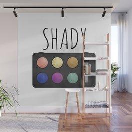 Shady Wall Mural