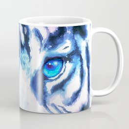 White Tiger | Snow Tiger | Tiger Face | Space Tiger Coffee Mug