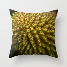 Red spotted Throw Pillow
