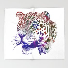 Jaguar 1 Throw Blanket