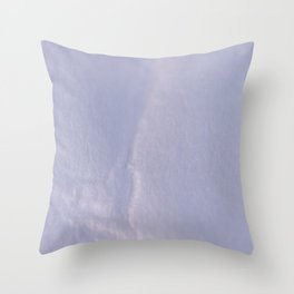 Crumpled Heart on Paper Texture Throw Pillow