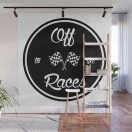 Off to the Races Wall Mural