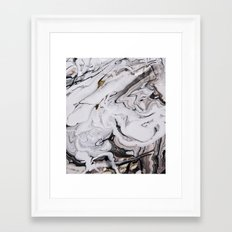 Chic Marble Framed Art Print