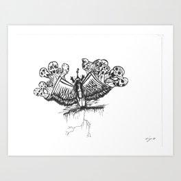Wing Demons Art Print