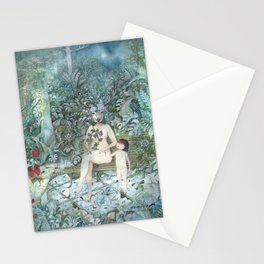 Nature Bond - Botanical Art Print  Stationery Cards