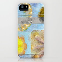 Hurtles Content Flower  ID:16165-095624-24981 iPhone Case
