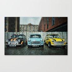 3 Minis Canvas Print
