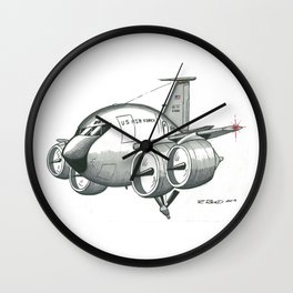 KC-135 by R. Reed Wall Clock