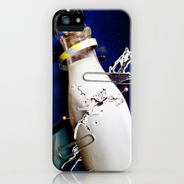 Milky   Collage iPhone Case