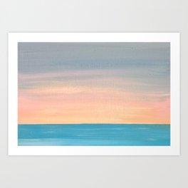 Sunset Series (ii) Art Print