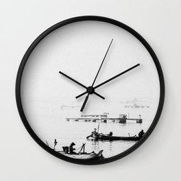 Fishermens Wall Clock