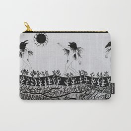 Crows' Dance Carry-All Pouch