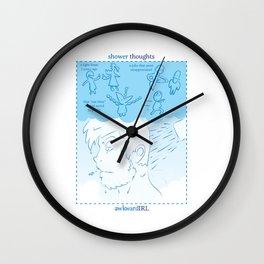 Shower Thoughts (awkwardIRL#10) Wall Clock