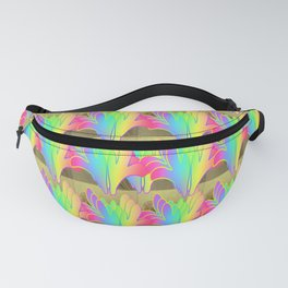 Flower and Floral Fanny Pack