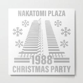 Nakatomi Plaza Christmas Party Metal Print