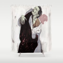 Fight. Shower Curtain