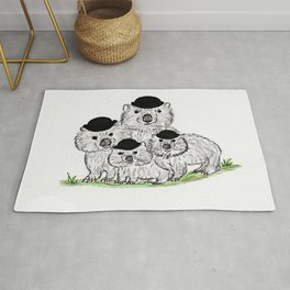 The Wombats Rug