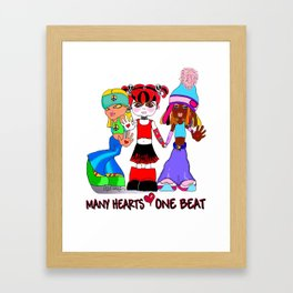 Beat Girlz Framed Art Print