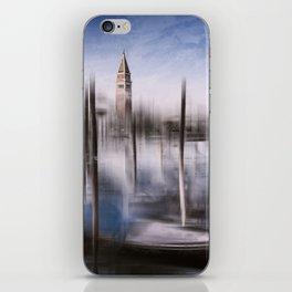 Digital-Art VENICE Grand Canal and St Mark's Campanile iPhone Skin