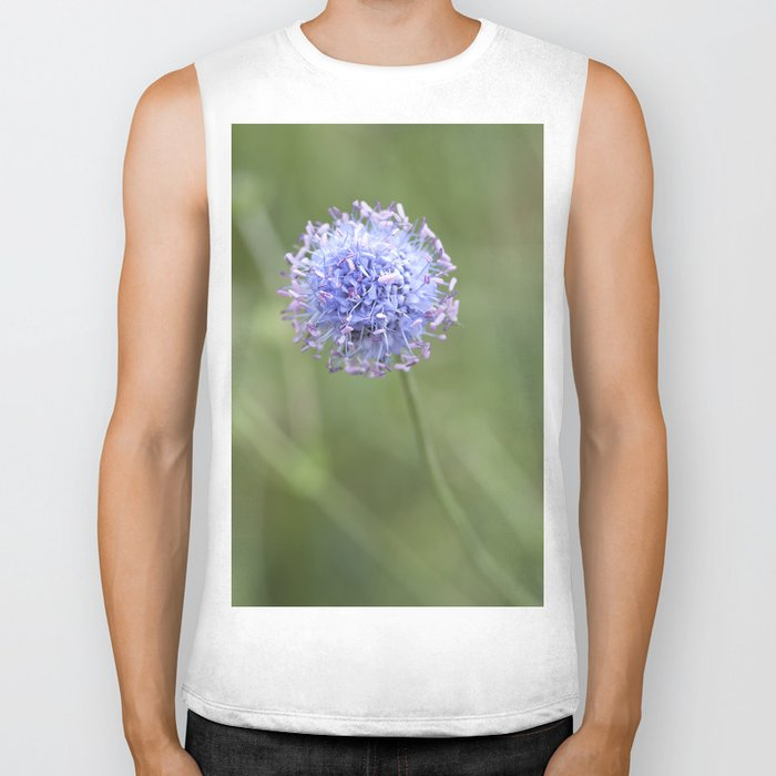 Blue LOVE - Flower Flowers Floral Spring on #Society6 Biker Tank