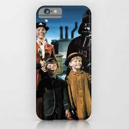 Darth Vader in Mary Poppins iPhone Case