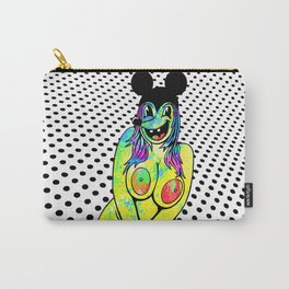 PLUS SIZE NUDE. (Mouseketeers). Carry-All Pouch