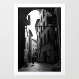 Ride Amidst Arches Art Print