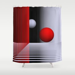 experiments on geometry -5- Shower Curtain