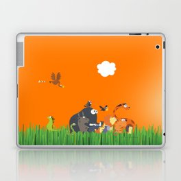 What's going on in the jungle? Kids collection Laptop & iPad Skin