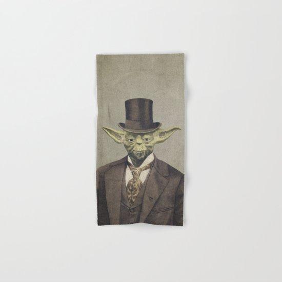 Sir Yodington  Hand & Bath Towel