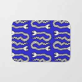 Pop Art Snakes Collage Bath Mat