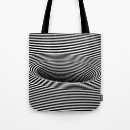 Black Hole Vertigo Tote Bag