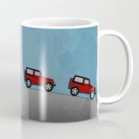 jeep Mugs featuring Jeep Jeep by rochaStuff