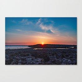 Surise on the sea Canvas Print