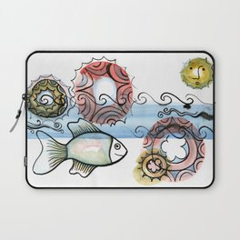 Life on the Earth - The Ocean Laptop Sleeve