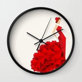 The Dancer (Flamenco) Wall Clock