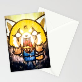 Aggretsuko   Retsuko Stationery Cards