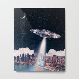 UFO State of Mind Metal Print