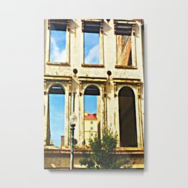 Magazine St Remnant Metal Print