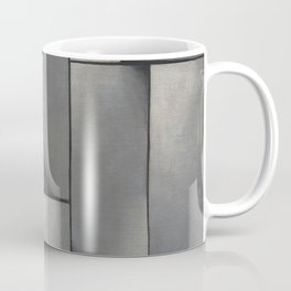 Theo van Doesburg - Composition in Gray - Rag-Time - Abstract De Stijl Painting Coffee Mug