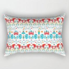 Scadinavian Fairytale Bright Rectangular Pillow