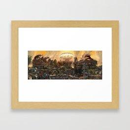 Apocalypse Ilkley Framed Art Print
