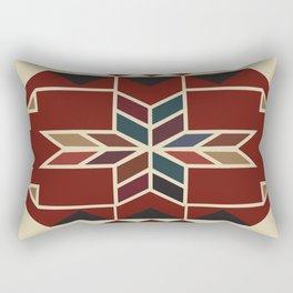American Native Pattern No. 24 Rectangular Pillow