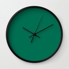 PANTONE 18-5845 Lush Meadow Wall Clock
