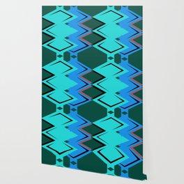 Blue Arrowhead Wallpaper