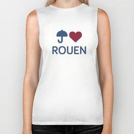 "I ""Love"" Rouen Biker Tank"