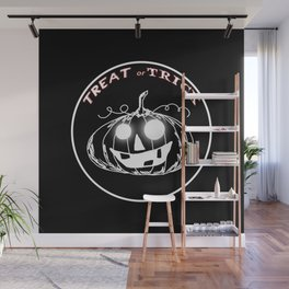 Pumpkin:Treat or Trick Wall Mural