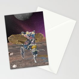 Space scavenger Stationery Cards
