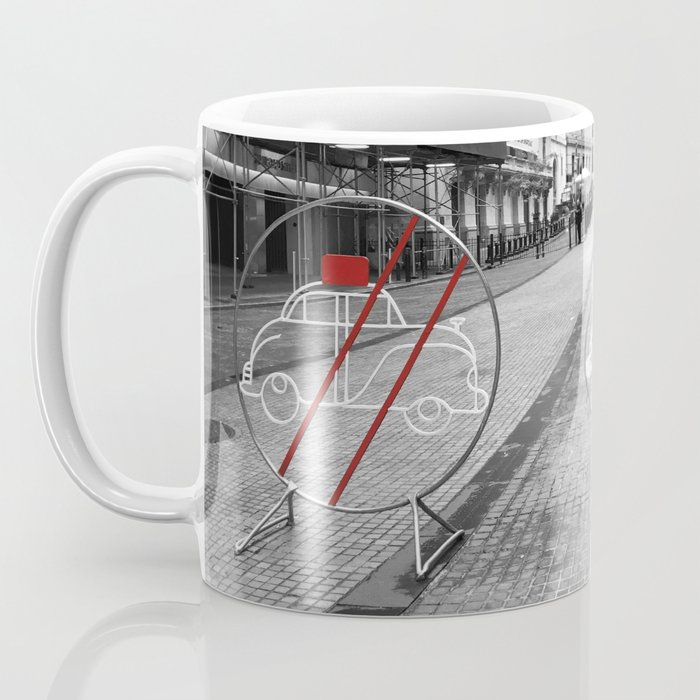 Pedestrian Crossing - Downtown NYC Coffee Mug